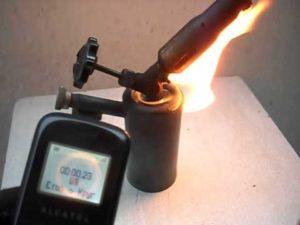 паяльная лампа на бензине