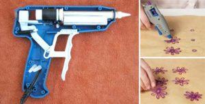 Как правильно пользоваться клеевым пистолетом