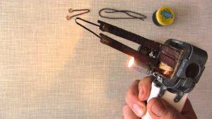 Как сделать импульсный паяльник своими руками