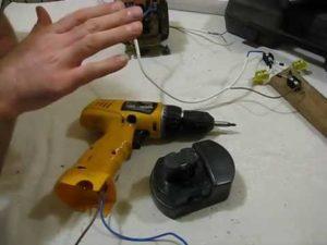Как аккумуляторный шуруповерт сделать с зарядкой от сети