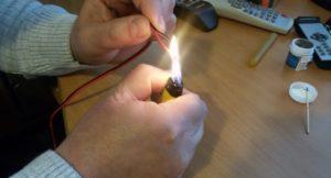 Паста для пайки проводов без паяльника