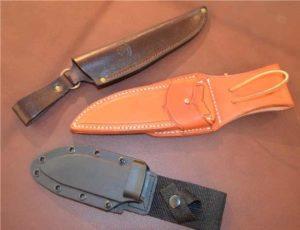 Как сделать ножны для ножа своими руками