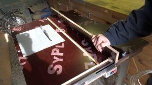 Как сделать распиловочный стол из ручной циркулярной пилы