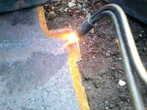 Резка металла газовым резаком своими руками