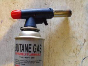 Температура огня газовой плиты